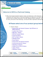 WEG e-Technical Catalog